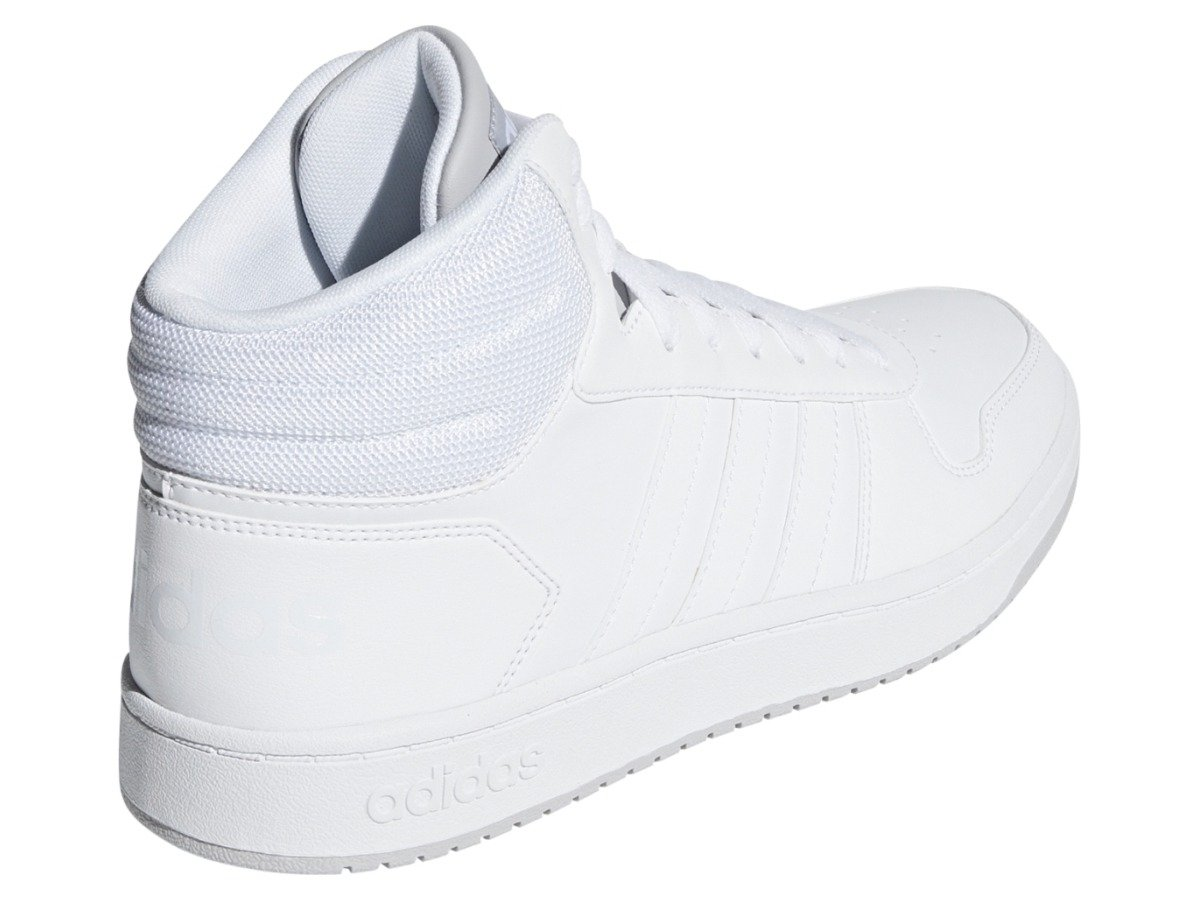 ADIDAS HOOPS MID 2.0 Herren Sneaker Turnschuhe Sportschuhe Weiss F34813 Neu