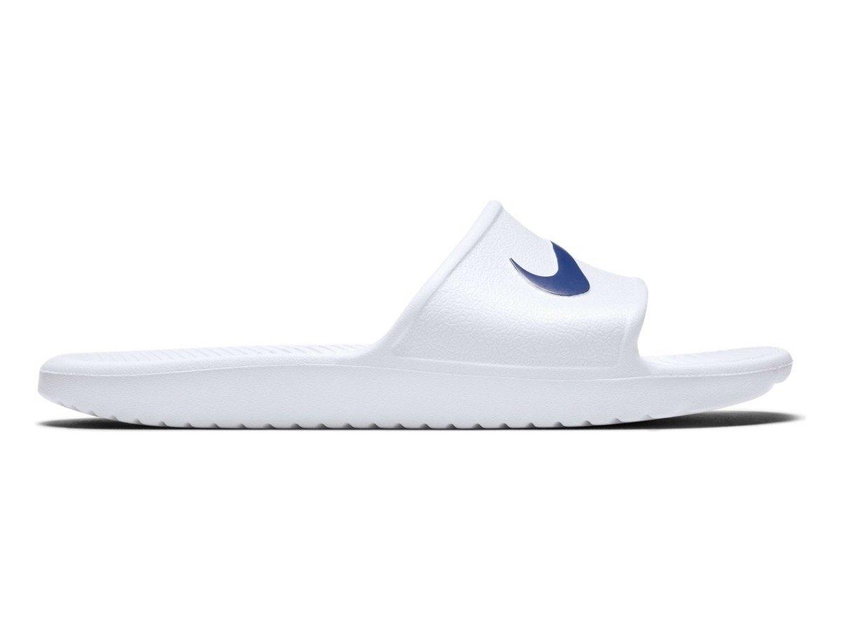 NIKE KAWA SHOWER Badeslipper Schuhe Badelatschen Herren 832528 100 Weiß